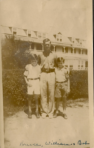 Bruce Mason, William Lawrence Perkins, Jr. and Bob Otto - July 1936